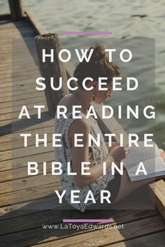 Have you tried to read the entire Bible this year but didn't make it passed Leviticus? Me too! Here 5 tips on how to read the Bible from cover to cover in a year (or less). They helped me do it in 6 months!