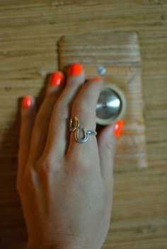 Sterling Silver Horse Shoe Ring, Etsy