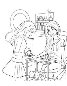 Barbie Coloring