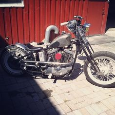 Ironhead | Bobber Inspiration - Bobbers and Custom Motorcycles August 2014