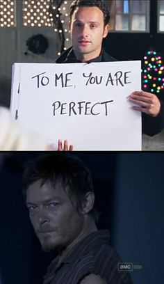 The Walking Dead // Love Actually // Daryl Dixon // Rick Grimes // Mash-Up Hahahahabahahaha!!!!