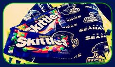Seahawks and Skittles...need I say more?