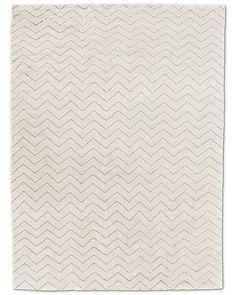 RH: 10x14: $4829.  9x12: $6595 Wool. Traza Rug - Ivory/Silver