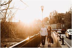 Historic Ellicott City Engagement | Baltimore Maryland Wedding Photographer