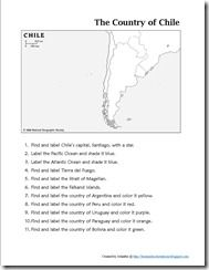 Learning About Chile ~ Lesson Plans and Links