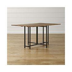 Origami Drop Leaf Rectangular Dining Table