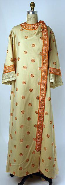 Dressing gown Date: 1910 Culture: German Medium: wool