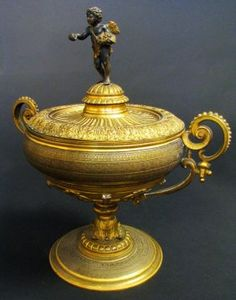 19th Century French Bronze Figural Centerpiece