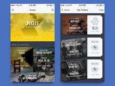 Cinema app by FireArt Studio
