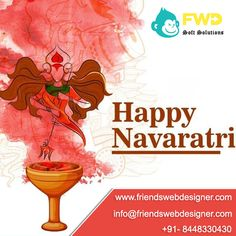 FWD Soft Solution, India's top website designing company in Faridabad, We offer to our customer's attractive user-friendly cum SEO-friendly website design. We offer all kind of website design services. Navratri Festival, Digital Marketing, Design