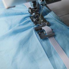 Máquina de coser doméstica pie prensatelas #9907-6 alta calidad cuerda elástica banda tejido elástico