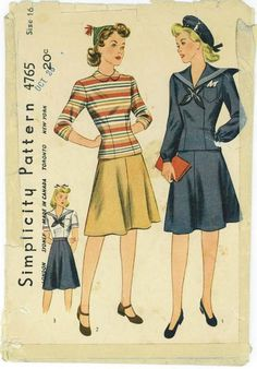 Simplicity 4765 date unknown