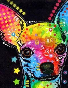 chihuahua painting