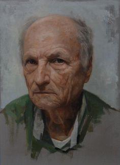 """Antonio Lopez Life Study,"" David Kassan, oil, 16 x 14"", private collection."