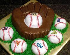 Love love love this baseball cake!