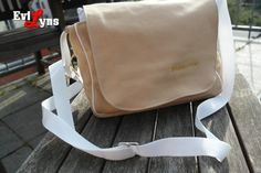 Fahrsteiger Messengerbag von Evil Lyns auf DaWanda.com