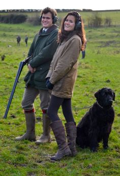 dubarry boots photo shoot  | My coat's a Barbour & the boots are Dubarry . Harry's in Chameau coat ...