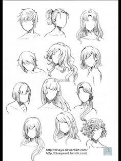 Drawing || Hair 2