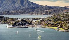 Aerial photo of Tiburon, California Cool Places In California, California Living, California Travel, Northern California, Tiburon California, Yosemite National Park, National Parks, California Tourist Attractions, Visit Maine