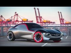 2016 Opel GT Concept feiert Weltpremiere - Genfer Automobil Salon 2016 - YouTube