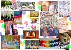 Décoration multicolore 123 nous irons