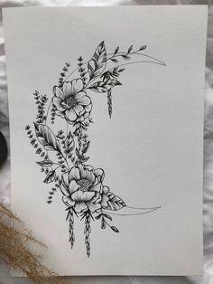 Tattoos Skull, Body Art Tattoos, Small Tattoos, Ankle Tattoos, Arrow Tattoos, Tatoos, Family Tattoos, Couple Tattoos, Art Floral