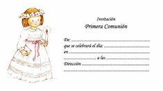 invitaciones de primera comunion para imprimir gratis en casa
