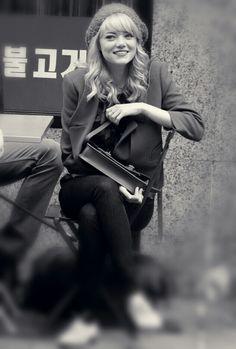 Blonde Emma Stone