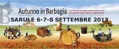 AUTUNNO IN BARBAGIA 2013 – SARULE – PROGRAMMA COMPLETO – 6-7-8 SETTEMBRE 2013