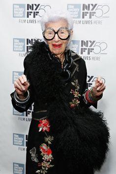 Iris Apfel #style