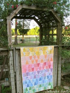 Saltwater Quilts: All Finished!! 30's Reproduction Tumbler Quilt