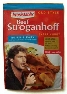It's What's for Dinner...Hasselhoff craft cooking!