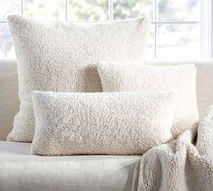 These faux sheepskin pillows—$25.50