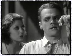James Cagney and Loretta Young.  Taxi.1932.