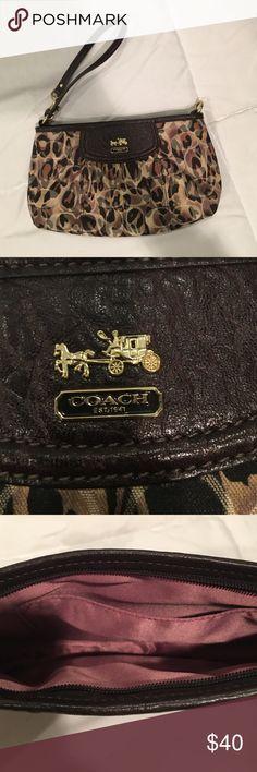 Wristlet bag Coach wristlet new no tags Coach Bags Clutches & Wristlets