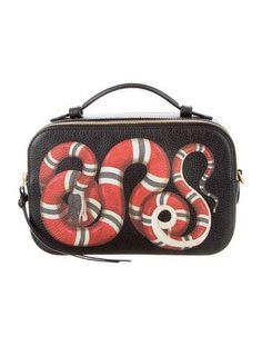 9ba0233d4c1 Gucci 2017 Snake Print Top Handle Bag