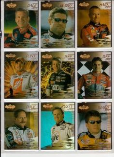 NASCAR 2000 UPPER DECK RACING 45 CARD BASE SET FREE SHIPPING!!