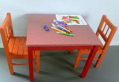 tafel ikea met tafelzeil