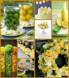 Summer Zest: When Life Hands You Lemons, Use Them in Your Decor! | Green Bride Guide