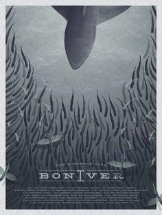 Bon Iver (European Tour) Poster Print by DKNG
