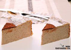 Receta de Tarta de queso y castañas