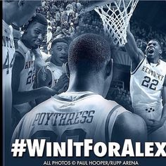 Alex Poythress honored by Kentucky basketball players with #RoarFor22 shirts