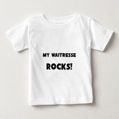 MY Waitresse ROCKS T Shirt, Hoodie Sweatshirt