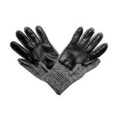 Deerskin Palm Ragg Wool Glove (Charcoal)