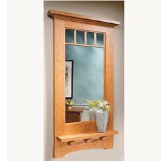 $249 Handcrafted Craftsman (or Mission) style mirror