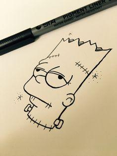 Pencil art drawings sketchbooks artists 59 Ideas for 2019 Trippy Drawings, Sad Drawings, Cool Art Drawings, Pencil Art Drawings, Art Drawings Sketches, Cartoon Drawings, Cartoon Art, Simple Drawings, Hipster Drawings