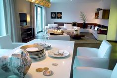 Ideen fürs Wohnzimmer und Esszimmer * Wohninspirationen * offene Räume * Schwörer Haus