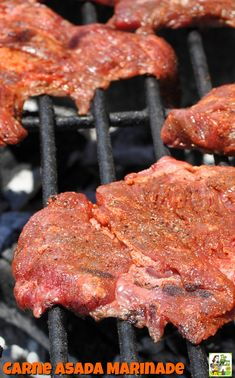 Jun 2019 - Looking for an easy carne asada burrito or taco recipe? Try the Best Carne Asada Recipe Ever! This carne asada marinade recipe is so easy that you'll never bother with Mexican take out again. Terrific for parties or tailgating! Meat Recipes, Slow Cooker Recipes, Mexican Food Recipes, Real Food Recipes, Crockpot Recipes, Cooking Recipes, Thin Steak Recipes, Yummy Recipes, Free Recipes