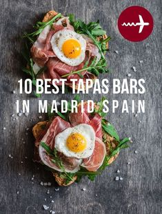 The scene in is truly on the rise. With a recent jump in international offerings, food market openings and a growing focus on farm-to-table produce and fresh A tapa is a small dish paired with beer or wine which can come in a varie Madrid Tapas, Madrid Food, Madrid Restaurants, Tapas Bar, Best Tapas, Madrid Travel, Bar Restaurant, Best Places To Eat, Spain Travel