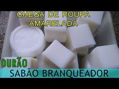 CHEGA DE ROUPAS AMARELADAS SABÃO DURÃO BRANQUEADOR - YouTube Diy Cleaning Products, Coco, Vídeos Youtube, Camera Phone, Lemon Soap, Home Made Bars, Toilet Cleaning Tips, Homemade Washing Detergent, Cork Art